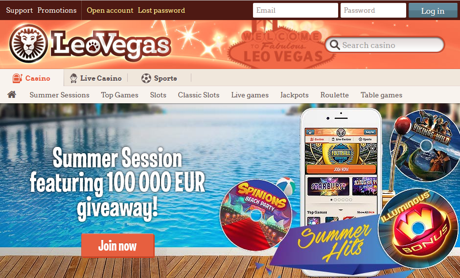 wat is leovegas casino