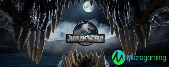 Jurassic World gokkast Microgaming